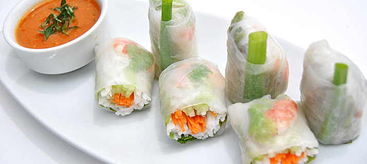 Goi Cuon (Fresh summer rolls)